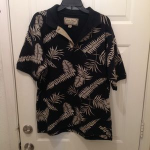 Men's polo Hawaii shirt size large